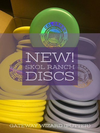 SKOL Ranch Disc Golf Putter