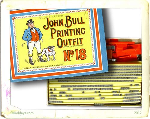 John Bull printing outfit from the 1950s