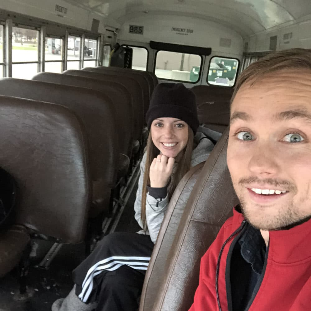 skoolie livin school bus conversion