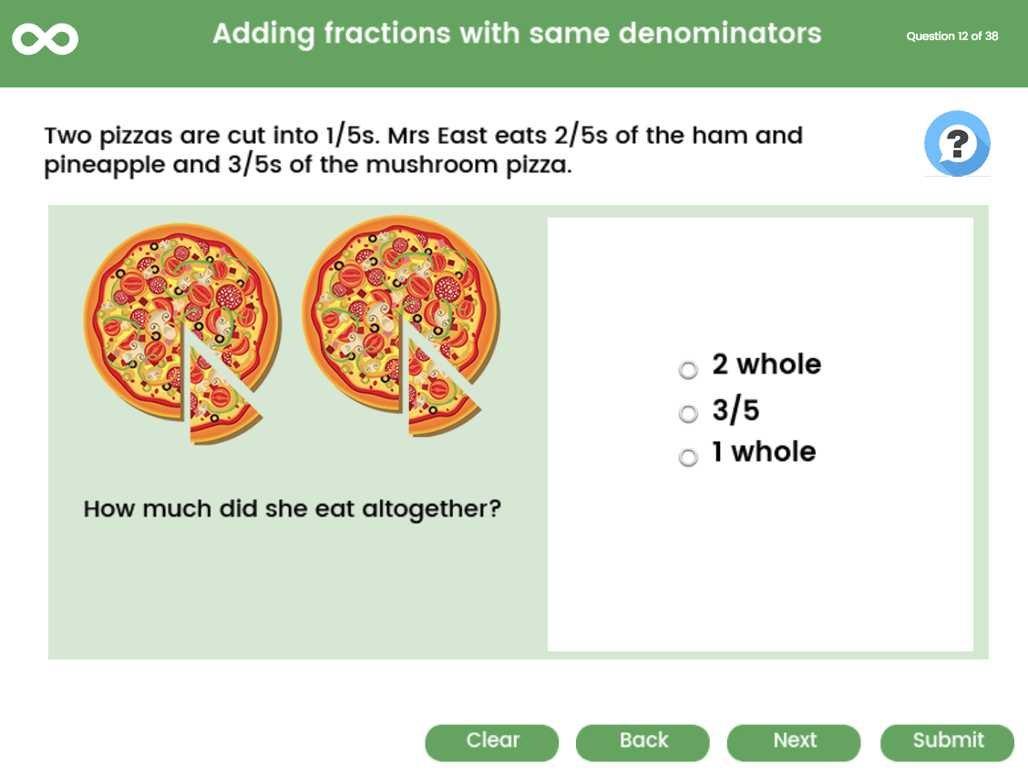 Adding And Subtracting Fractions Year 5