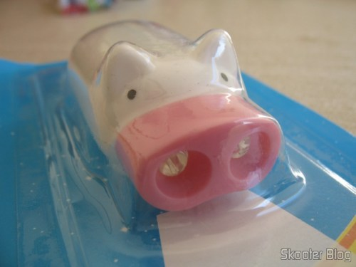 Mini Pig Flashlight with White 2 LEDs