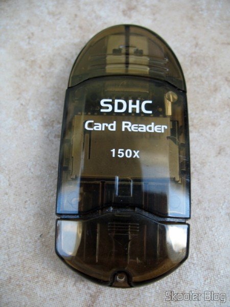 Leitor de cartões USB 2.0 SDHC (SDHC USB 2.0 Card Reader)
