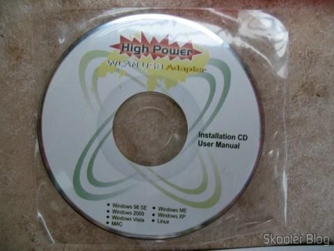 CD do Dongle Wi-Fi, veio faltando no pedido original e foi acrescentado nesse