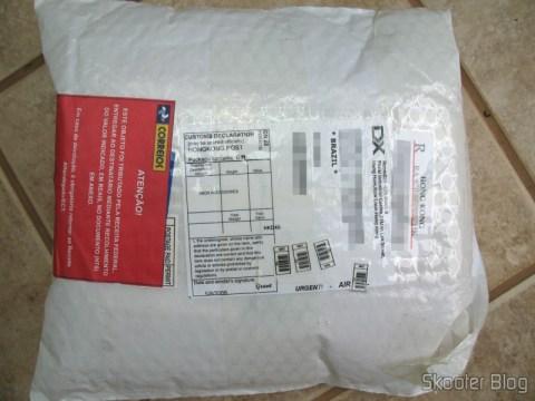 Pacote da DealExtreme: registrado e tributado