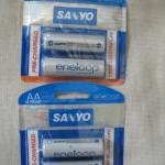 Pilhas Sanyo Eneloop falsificadas