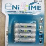 Terceira cartela de pilhas GS Yuasa NiMH AAA de baixa auto-descarga