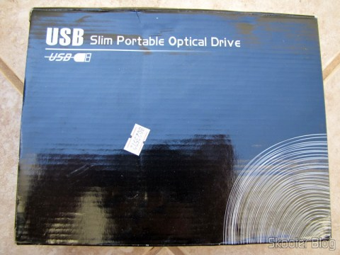 Caixa do Drive Óptico Portátil Combo Blu-ray, DVD+/-RW e CD-RW