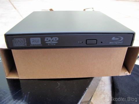 Drive Óptico Portátil Combo Blu-ray, DVD+/-RW e CD-RW
