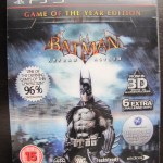 Batman: Arkham Asylum Game of The Year Edition - ainda lacrado