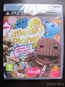 Little Big Planet Game of the Year Edition, ainda lacrado