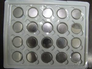 Pacote com 20 baterias de lítio 3.0V CR2025