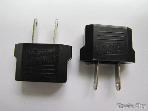 Adaptadores de Plug de Energia de Redondo para Plano