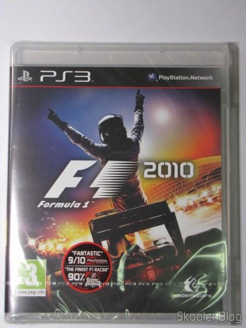 O F1 2010 ainda lacrado