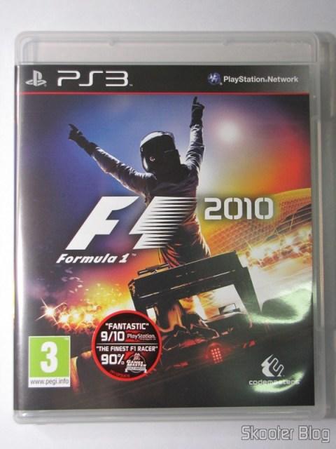 A capa do F1 2010 (PS3)