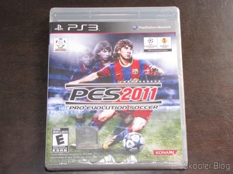 PES 2011 - Pro Evolution Soccer ainda lacrado