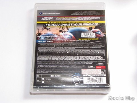 Need For Speed: Hot Pursuit - Limited Edition (PS3), ainda lacrado