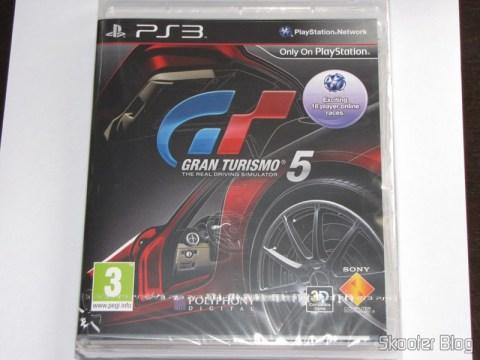 Gran Turismo 5 (PS3) na embalagem ainda lacrada
