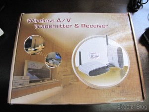 Box Transmitter / Receiver A / V Extender with Wireless Remote Control 5.8GHz Pakite PAT-530
