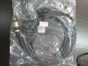 Optical Cable TOSLINK Digital Audio Premium 3 m extensão