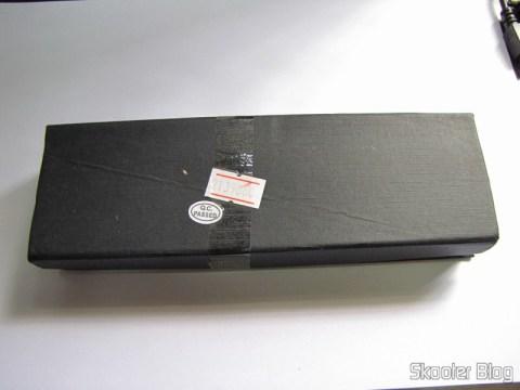 Estojo do Apontador Laser Vermelho 560nm com 50mW – 2 pilhas AAA