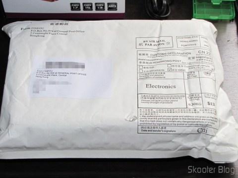 """Pacote da FocalPrice com o Case para HD externo 2.5"""" SSK SHE066-F vermelho - Solução para armazenamento móvel"""