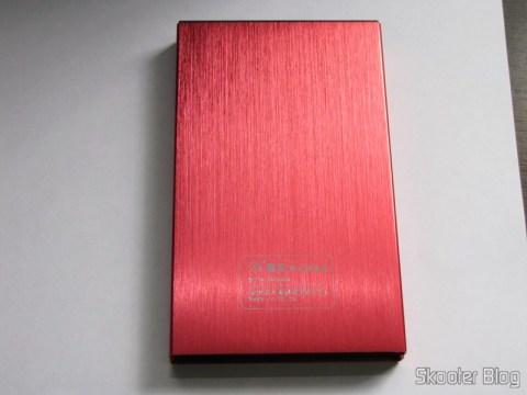 """Case para HD externo 2.5"""" SSK SHE066-F vermelho - Solução para armazenamento móvel"""