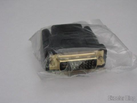 Adaptador DVI 24+5/M para HDMI/F (HDMI/F to DVI 24+5/M Adapter)