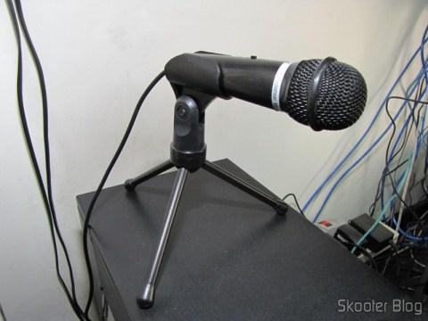 DICSONG DM-10 - Microfone Condensador com Tripé