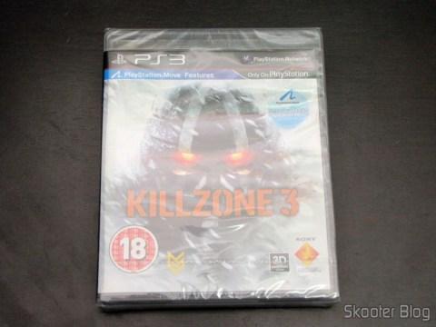 Killzone 3, ainda lacrado