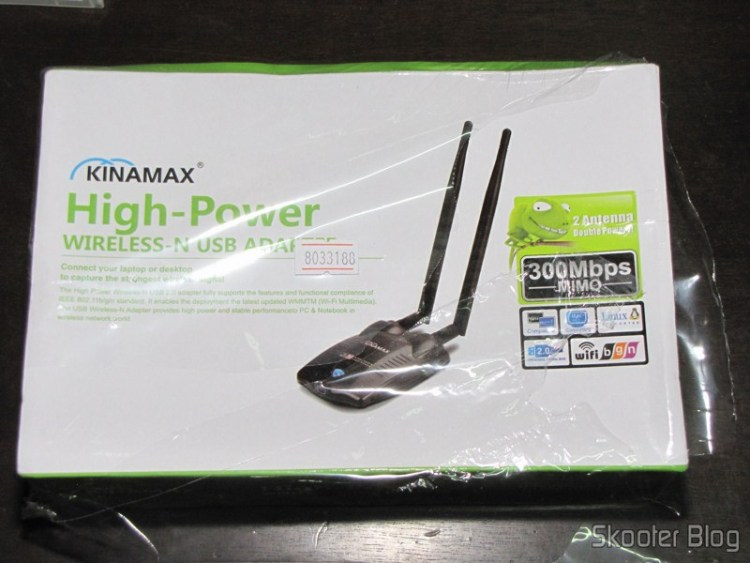 Packing Dongle USB WiFi Wireless Network 2.0 300High Power Mbps 802.11n/g/b, still sealed