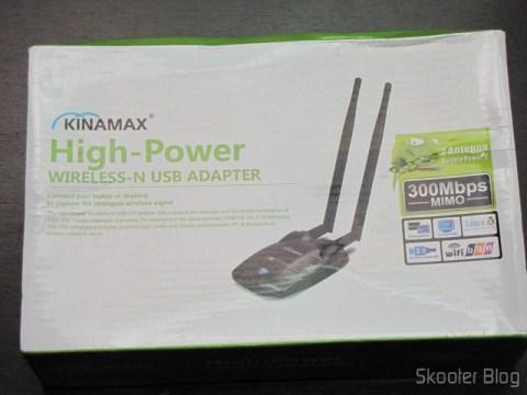 Embalagem do Dongle de Rede Sem Fio WiFi USB 2.0 300Mbps 802.11n/g/b de Alta Potência