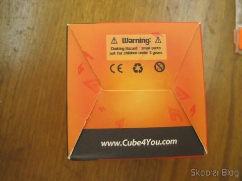 Parte inferior da caixa do Cubo Mágico de Alta Qualidade e Velocidade 3x3x3