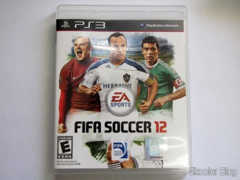 Capa do Fifa Soccer 12 (PS3)