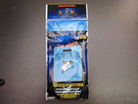 Embalagem do Cabo de Áudio 3.5mm (P2) macho para RCA macho com 180cm