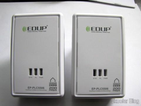 Adaptadores de Rede EP-PLC5506 HomePlug Powerline 200Mbps