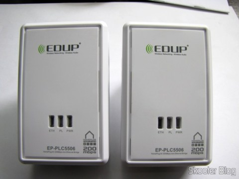 Adaptadores de Rede EP-PLC5506 HomePlug Powerline 200Mbps
