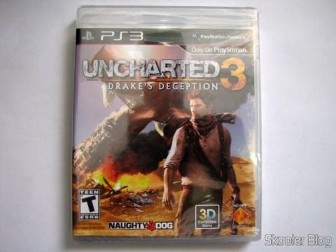 Uncharted 3: Drake's Deception (PS3), ainda lacrado