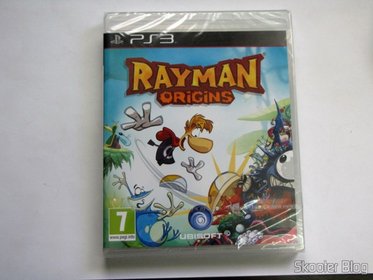 Rayman Origins do Playstation 3 (PS3), ainda lacrado