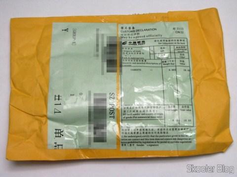 Pacote da DX (DealExtreme) com o Cartão Micro SDHC TF 16GB Sandisk Genuíno com Adaptador SD