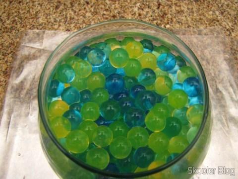 Bolinhas de Cristais Coloridos Mágicos Nutrientes e Umidificadores Decorador de Vasos para Plantas