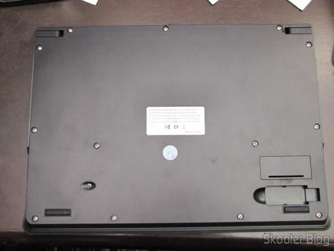 Teclado Sem Fio 2.4GHz Portátil com Touchpad & Receptor, MC Saite Genuíno, 800DPI e 88 teclas, 2 pilhas AAA (Genuine MC Saite 88-Key 800DPI Portable 2.4G Wireless Keyboard w/ Touchpad & Receiver (2*AAA))