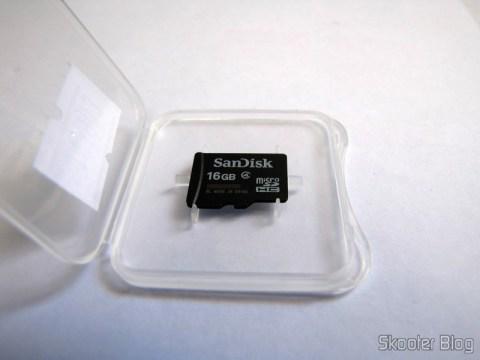 Micro SDHC Memory Card / Sandisk 16GB TF Genuino (Genuine SanDisk Micro SDHC / TF Memory Card (16GB))