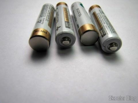 4 Rechargeable AAA 800mAh 1.2V Sony