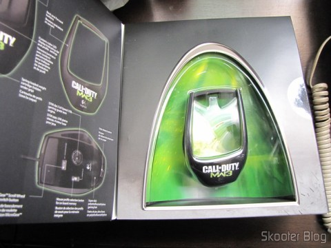 Embalagem do Mouse Logitech G9x - Edição Call of Duty: Modern Warfare 3 (New Logitech G9X Gaming Mouse Call of Duty: MW3 Edition)