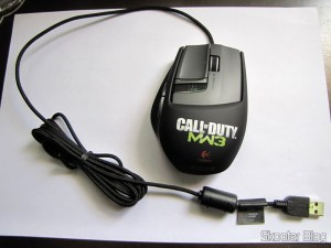 Mouse Logitech G9x - Edição Call of Duty: Modern Warfare 3 (New Logitech G9X Gaming Mouse Call of Duty: MW3 Edition)