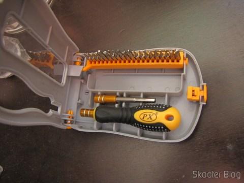 Conjunto Profissional 21 em 1 de Chaves de Fenda de Precisão (21 in 1 Professional Precision Screwdriver Set)