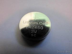 Bateria de Lítio CR2450 3V (CR2450 3V Cell Battery)
