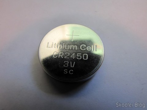 CR2450 3V Lithium Battery (CR2450 3V Cell Battery)