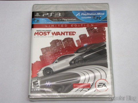 Need for Speed Most Wanted (2012) (PS3), still sealed