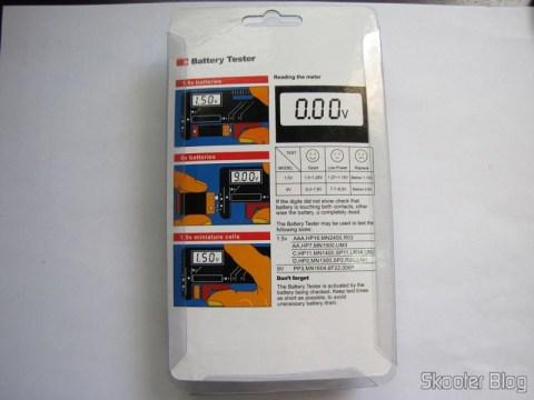 """Back packing Digital Battery Power Level Tester with LCD 3.5 """" (3.5″ LCD Digital Battery Power Level Tester)"""